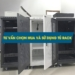 Tư vấn mua và sử dụng tủ rack thích hợp